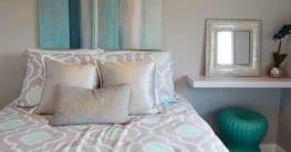 Schöne Kissen auch für das Schlafzimmer